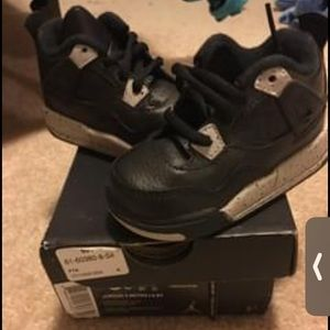 Toddler 5c Jordan retro 4s